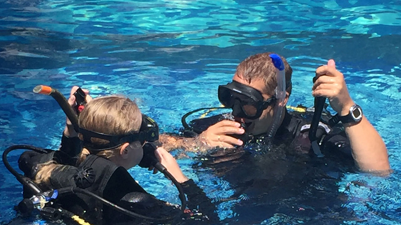 Scuba for the First Time
