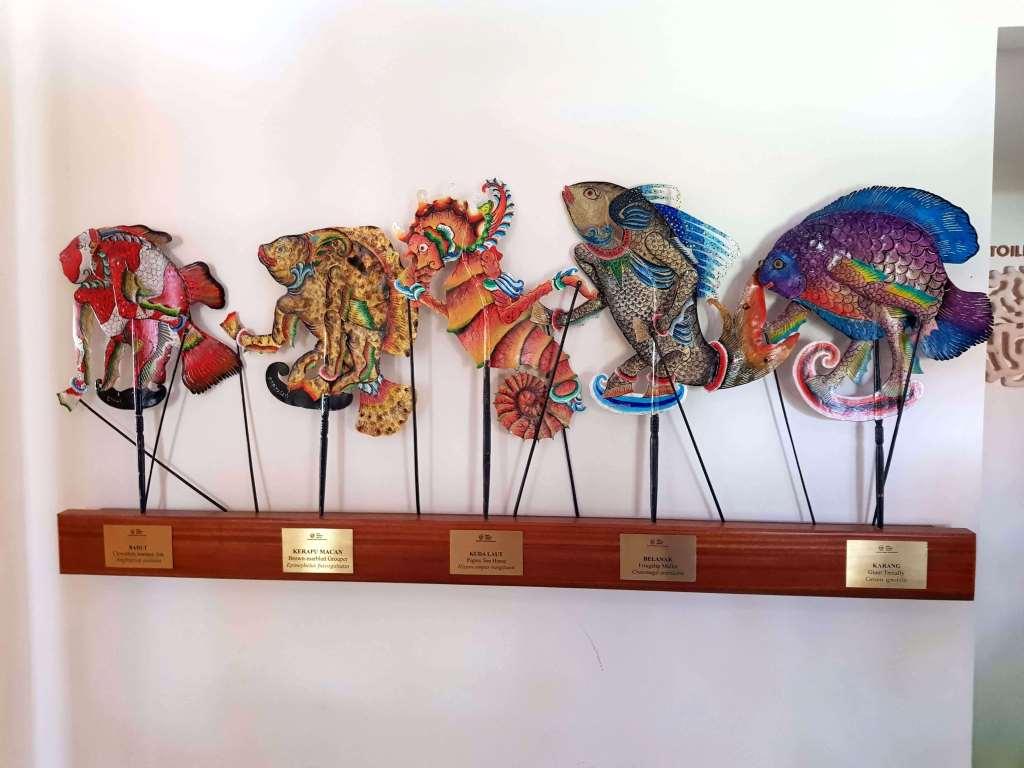 puppets coral triangle center Bali