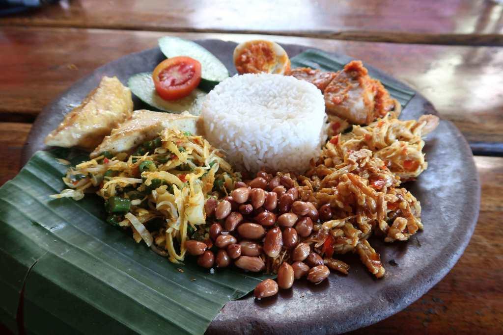 Indonesian Cuisine Nasi Campur Bali
